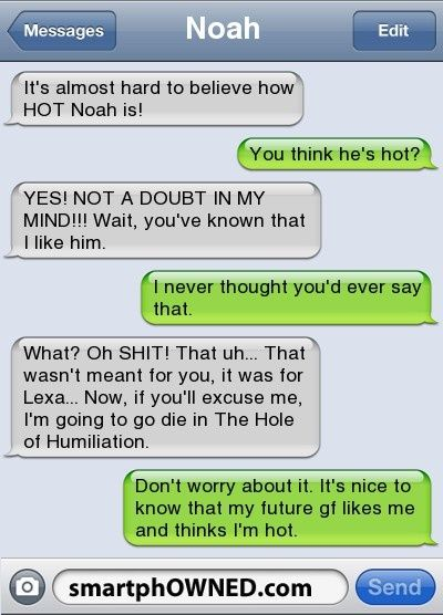 Page  – Relationships – Autocorrect Fails and Funny Text Messages – SmartphOWNED