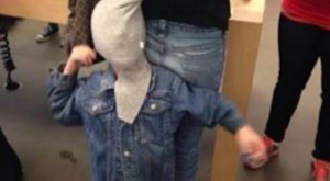 Welcome to parenting. This isn't a new way of restraining ur kid. Apparently they…