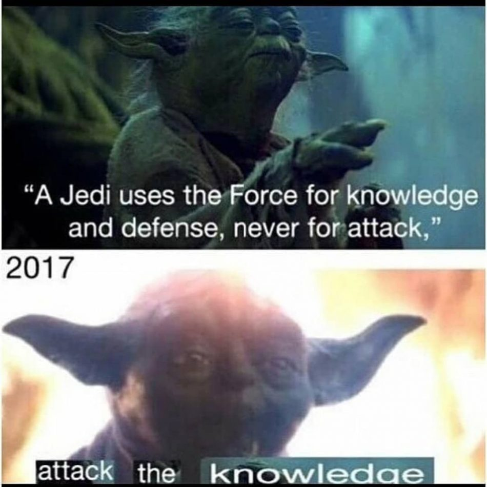 "Attack the knowledge #yoda explore Pinterest""> #yoda #memes explore Pinterest&#82..."