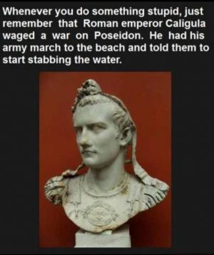 For my middle school history class. A reminder that history is full of fun…