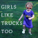 Tired of hearts and rainbows for girls clothing? Girls like trucks, dinosaurs, space, and…
