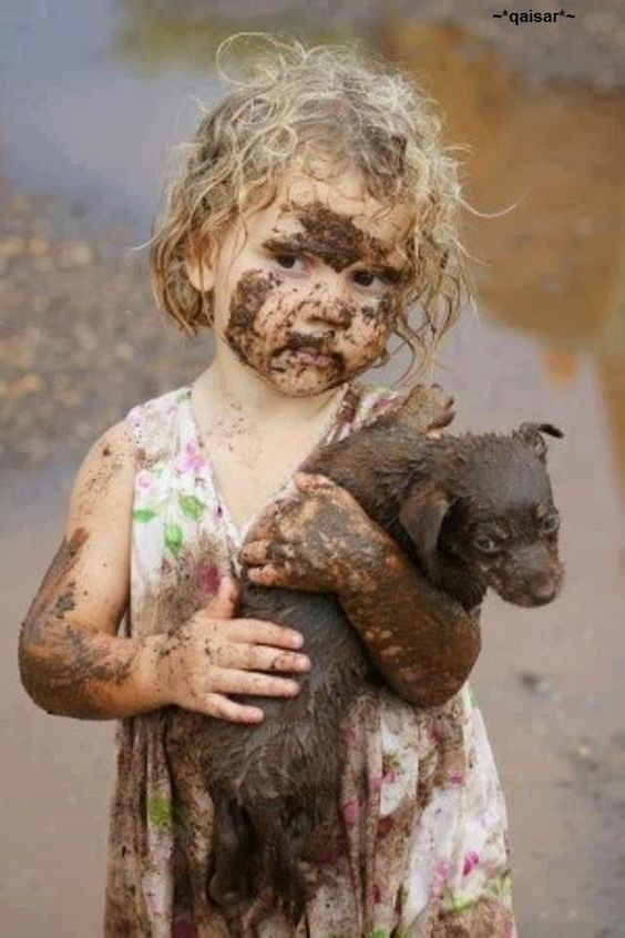 LET YOUR KIDS GET DOWN AND DIRTY