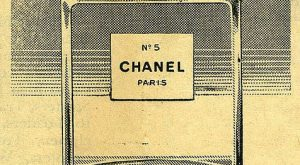 Chanel vintage advertisement
