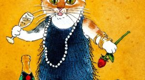 "NFAC cat mouse art card original watercolor ACEO painting KV Nibblefest #IllustrationArt "">…"