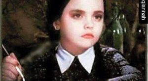 Wednesday From The Addams Family –  When someone tries to
