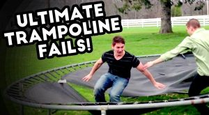 ULTIMATE TRAMPOLINE FAILS | Epic Fail Compilation | FB, IG, V | July
