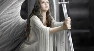The Blessing Card by Anne Stokes