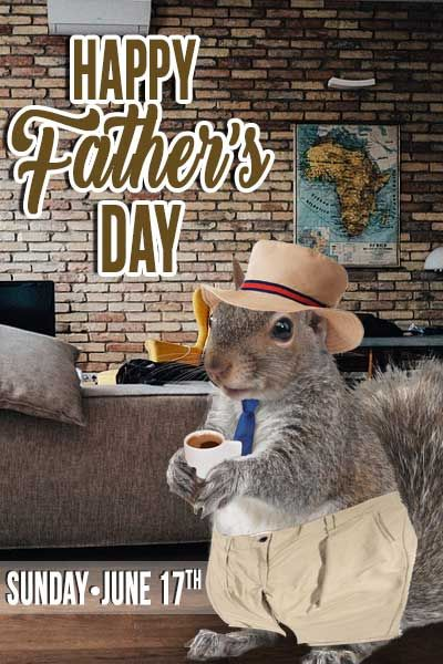 Happy Father's Day to all the Dads out there!