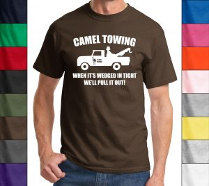 Camel Towing Funny T Shirt Adult Humor Rude Gift Tee Shirt Tow Truck Unisex…