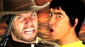 Bruce Lee vs Clint Eastwood. Epic Rap Battles of History Season . ( Clint…
