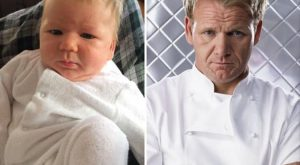 Baby-Celebrity-Lookalikes-21 funny pictures with captions pictures lookalike look a like k...