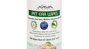 Arava Pet Ear Wipes:  Count – for Dogs, Cats, Puppies & Kittens, Natural…