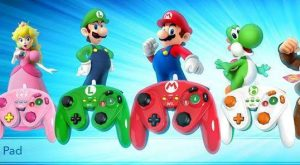 Link, Donkey Kong, Samus, and Wario GameCube-Style Controllers Coming