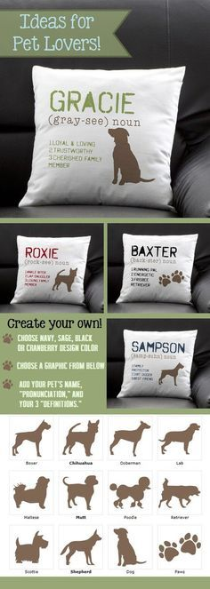 This pillow is so cute! I love how you can personalize it with your…