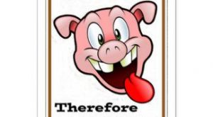 Funny Pig Quote Gifts on Zazzle
