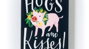 Now, world famous pig model, Hamlet the Piggy, can greet you each time you…