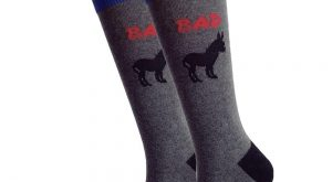 Badass Graphic Socks Donkey Funny Novelty Dress Cotton Crew Cut