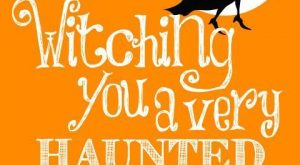 Witching you a very haunted funny holiday witch halloween happy halloween halloween images halloween…