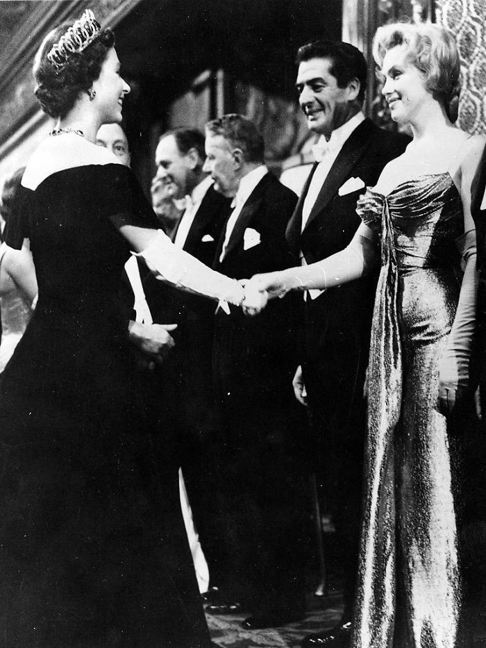Marilyn Monroe And Queen Elizabeth Were Born In The Same Year. Here They (Both…