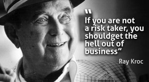 You have to be risktaker #likebig  #likebig #ray  #ray #kroc…