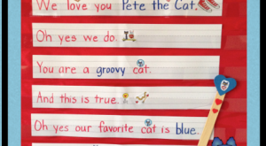 "Pete the Cat Pocket Chart Activity via Kathy Griffin's Teaching Strategies #preschool search Pinterest""…"