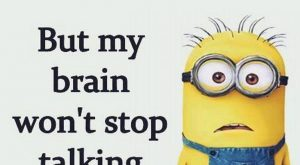Friday Minions Funny captions of the hour (09:55:09 PM, Friday 19, February 2016 PST)…