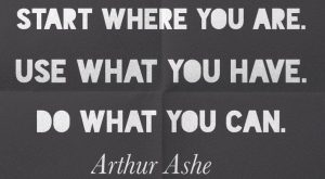 Arthur Ashe quote about life and perseverance to teach your kids and students. A…