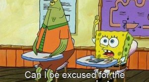 """And when he voiced what we are all thinking every day. 