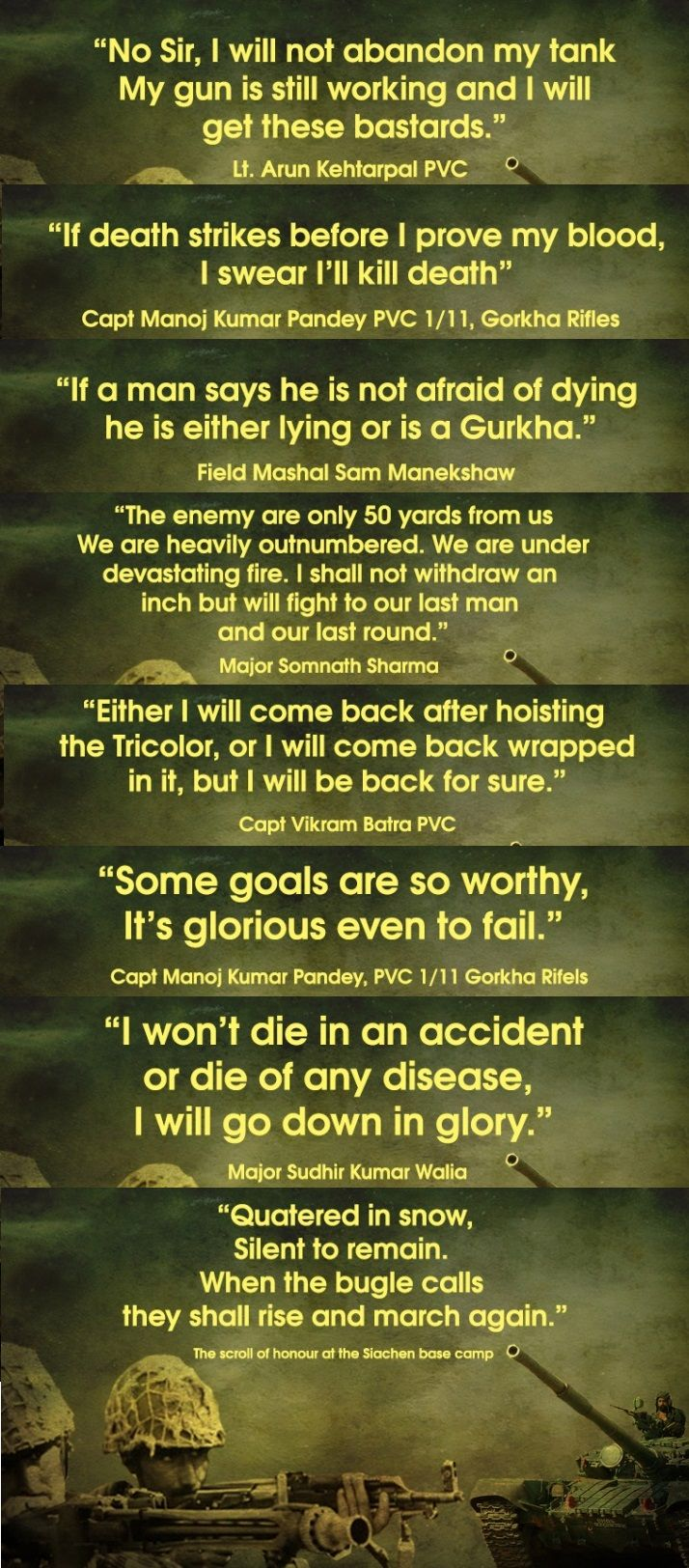 Saluting The Real Heroes. Indian Army day. Indian Army Sayings. Indian Army Quotes. #quote...