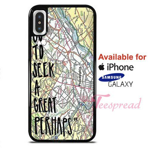 John Green Looking For Alaska Quotes I Go To Seek A Great Perhaps iPhone…