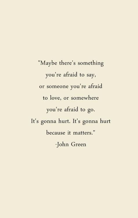 Looking for Alaska, John Green Pudge says this after the accident