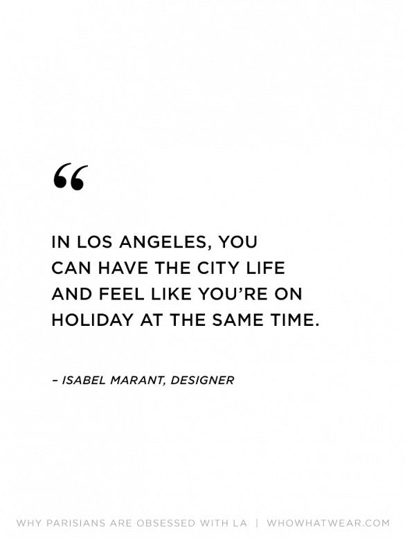 """In Los Angeles, you can have the city life and feel like you're on…"