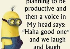 Cute Funny Minion Qu