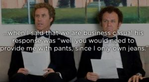 Awful interviews that were more casual than business