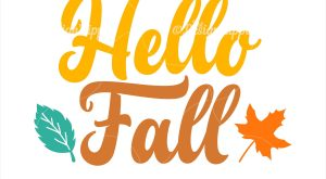 Fall svg, Hello fall svg, Fall leaves svg, Autumn svg, Fall sign svg, Welcome…