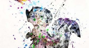 Skunk, Bambi Disney Watercolor Wall Art Poster – Prices from $ – Click Photo…