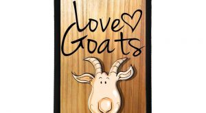 Love Goats quote phrase Goat pretty illustration graphic gift phone case cover