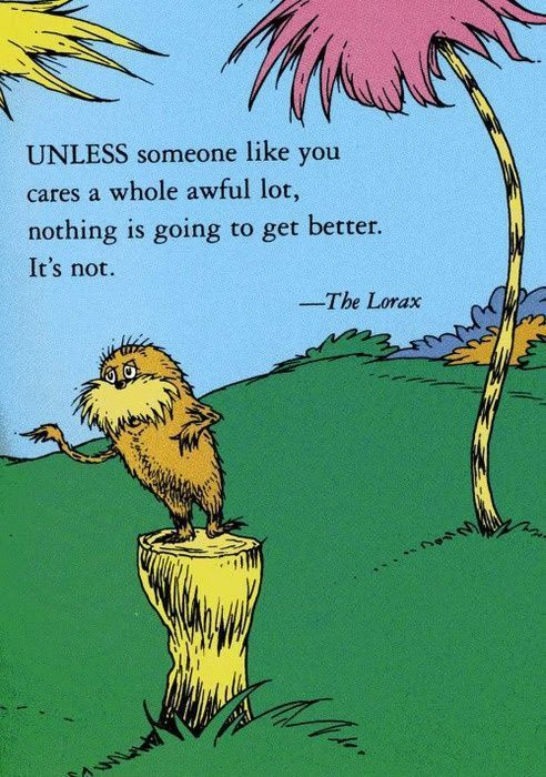 Quote from The Dr. Seuss wisdom