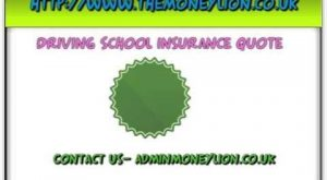 Driving School insurance quote