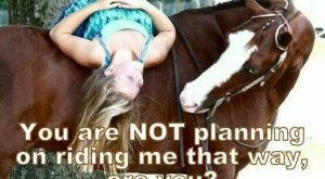 A girl and her horse!