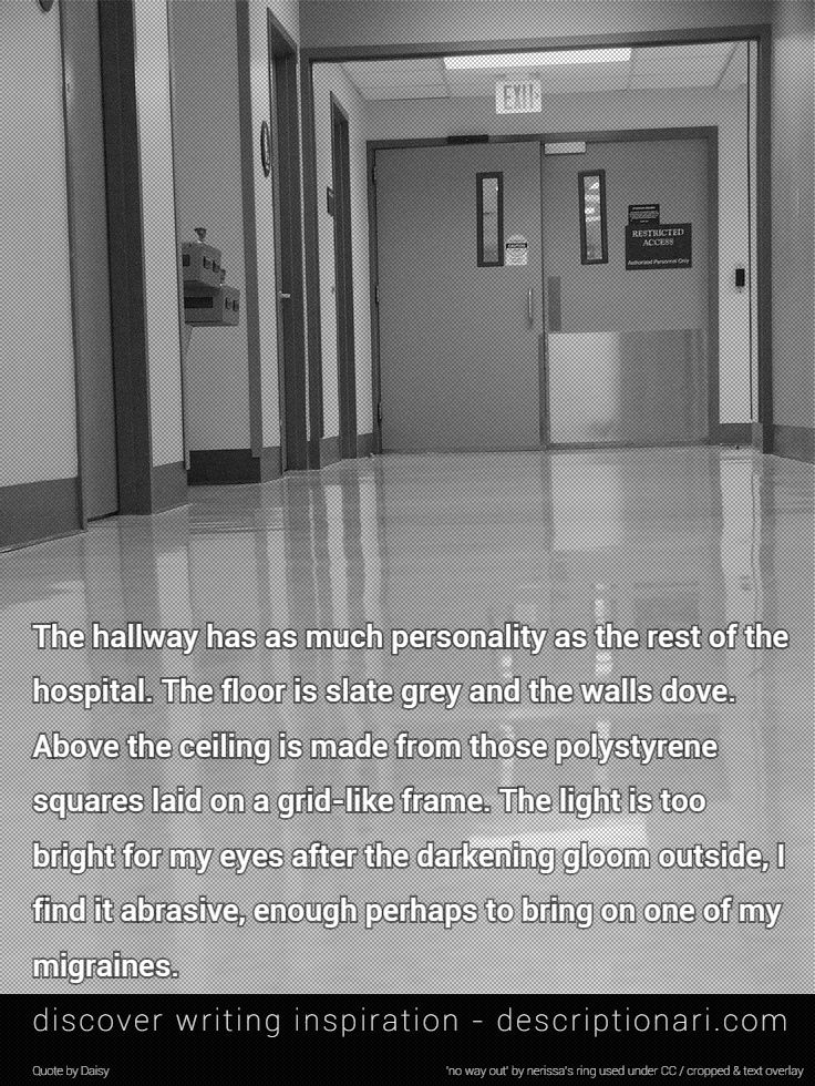Hospital – Quotes And Descriptions To Inspire Creative Writing