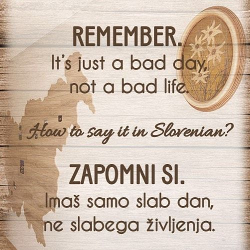 Good morning! So even it you have a bad day today that doesn't mean…