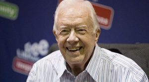 Former President Jimmy Carter, 90, announced on Wednesday that he is battling cancer. Pict...