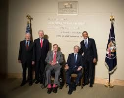 Opening of the George W. Bush Presidential Library President Jimmy Carter, President Bill ...