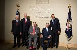 Opening of the George W. Bush Presidential Library President Jimmy Carter, President Bill Clinton,…