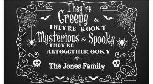 Adams Family Halloween Banner $ by MyOwnEulogy The post Adams Family Halloween Banner appeared…