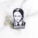 """Adams family Wednesday Pin Adams family Wednesday """"I'm smiling """"pin Accessories"""