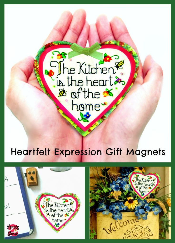This handcrafted magnet gift would be a thoughtful gift for Mom, or the perfect…