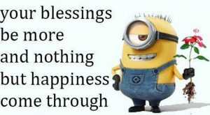 Minions fun quotes of the hour (11:38:06 AM, Wednesday 24, February 2016 PST) –…