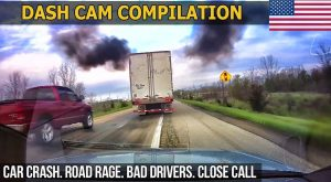 Dash Cam Compilation (USA) Car Crashes in America 2017   2018 # 27